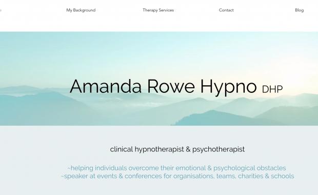 Amanda Rowe Hypnotherapy
